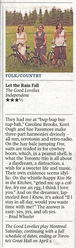 GlobeMail_LTRF_Review_2011